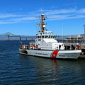 Us Coast Guard On Columbia River by Christiane Schulze Art And Photography