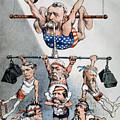 U.s. Grant Cartoon, 1880 by Granger