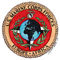 U.s. Marine Corps Forces Europe - Africa by Betsy Hackett