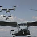 U.s. Marine Corps Mv-22 Osprey by Stocktrek Images