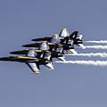 Us Navy Blue Angels by Lucinda  M Wickham