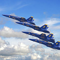Us Navy - Blue Angels by Pat Speirs