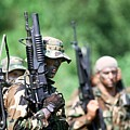 Us Navy Seals In Warfare Training by Everett