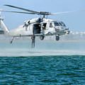 U.s. Navy Sh-60s Sea Hawk Helicopter by Celestial Images