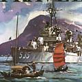 U.s. Navy Travel Poster by Granger