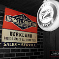 Us Route 66 Briggs And Stratton Signage Sc by Thomas Woolworth