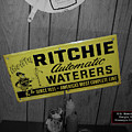 Us Route 66 Smaterjax Dwight Il Rare Waterers Signage by Thomas Woolworth