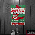 Us Route 66 Smaterjax Dwight Il Sky Chief Supreme Signage by Thomas Woolworth