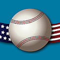 Usa Baseball by Ericamaxine Price
