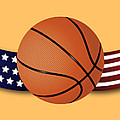 Usa Basketball by Ericamaxine Price