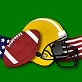 Usa Football by Ericamaxine Price