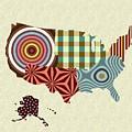 Usa Map by Lanre Studio