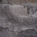 Usa Map Outline On Concrete Wall Slab by Design Turnpike