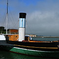 Usa Paddle Steamer Eppleton Hall Newcastle by Christiane Schulze Art And Photography