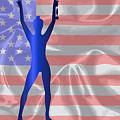 Usa Winner Background by Bigalbaloo Stock