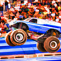 Usaf Afterburner Monster Jam by Jeelan Clark