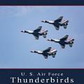 Usaf Thunderbirds by Dale Kincaid