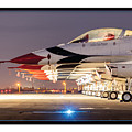 Usaf Thunderbirds by Mark Loper