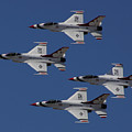 Usaf Thunderbirds by Tommy Anderson