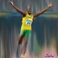 Usain Bolt 2008 by Jack Bunds