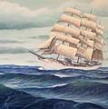 Uscg Danmark by William H RaVell III