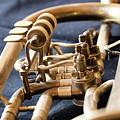 Used Old Trumpet, Closeup by Jaroslav Frank