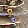 Used Skateboards by Kym Williams-Ali