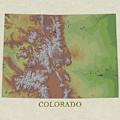 Usgs Map Of Colorado by Elaine Plesser