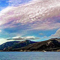 Ushuaia, Ar, Clouds Over Mountains by Stefan H Unger