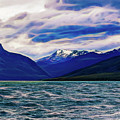 Ushuaia Ar Ocean Mountains Clouds by Stefan H Unger