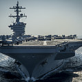Uss Carl Vinson by Celestial Images