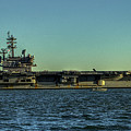 Uss George Hw. Bush by Jerry Gammon