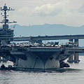 Uss George Washington by Brett Winn