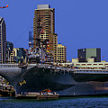 Uss Midway San Diego Ca by Tommy Anderson
