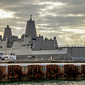 Uss Portland From The Port Side by Bob Slitzan