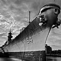 Uss Wisconsin by Don Mercer
