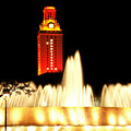 Ut Tower Championship Win by Marilyn Hunt