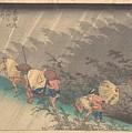 Utagawa Hiroshige    Shno Hakuuwhite Rain At Shno by Mery Moon