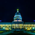 Utah State Capitol Lights by TL  Mair