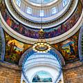 Utah State Capitol Rotunda #2 by TL  Mair