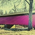 Utica Mills Covered Bridge by Paul Kercher