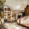 Utrillo: Montmartre, 20th C by Granger