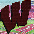 Uw Game Day Poster - Oil by Tommy Anderson