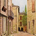 Uzes, South Of France by Olga Silverman