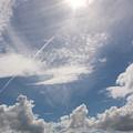 V Cloud Under The Sun  by Rayce Rapoza