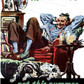 Vacation At Home -- Ww2 Poster by War Is Hell Store