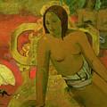 Vairumati by Paul Gauguin