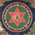 Vajravarahi Mandala by Frederick Holiday