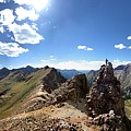 Valecito And Chicago Basins From Mt Jupiter - Weminuche Wilderness - Colorado by Bruce Lemons