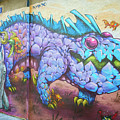 Valencia Spain Street Art Artistic by Joan Carroll